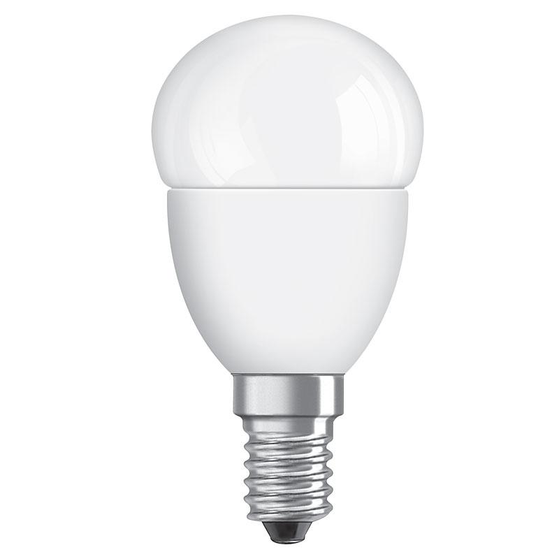 led lampe osram e14 6w ersatz f r 40 watt 470 lumen. Black Bedroom Furniture Sets. Home Design Ideas