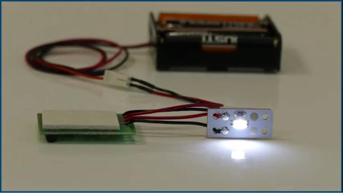 Leuchtdioden-Schweller