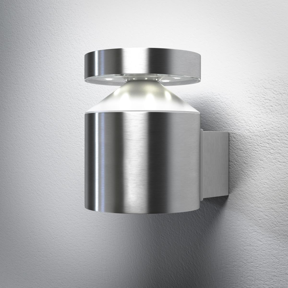 OSRAM ENDURA STYLE Cylinder Edelstahl LED WAND-LEUCHTE 6W 360lm warm white 3000K