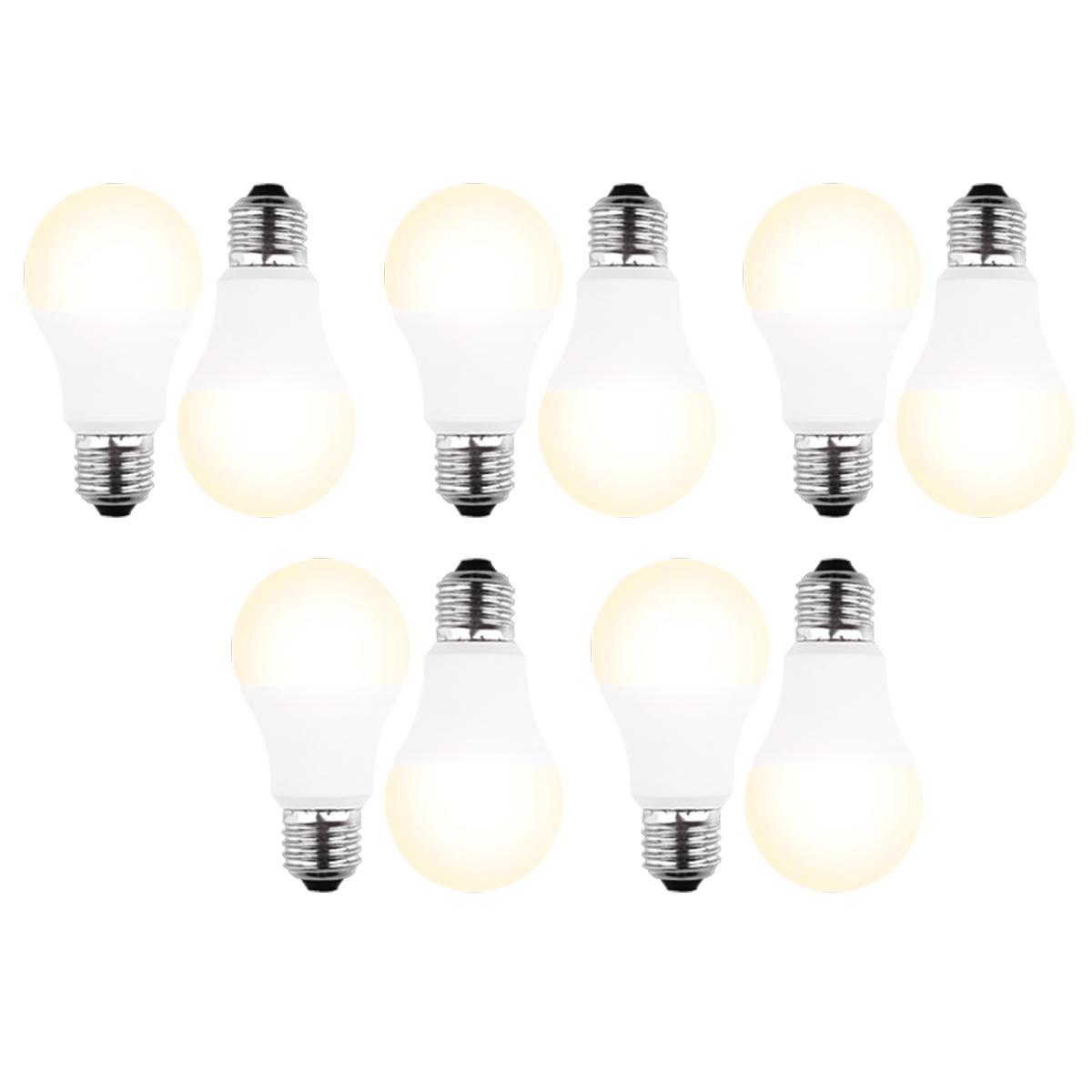 2 Stück  BLULAXA LED-Lampe E27 8 Watt 810 Lumen warm white ersetzt 60 Watt