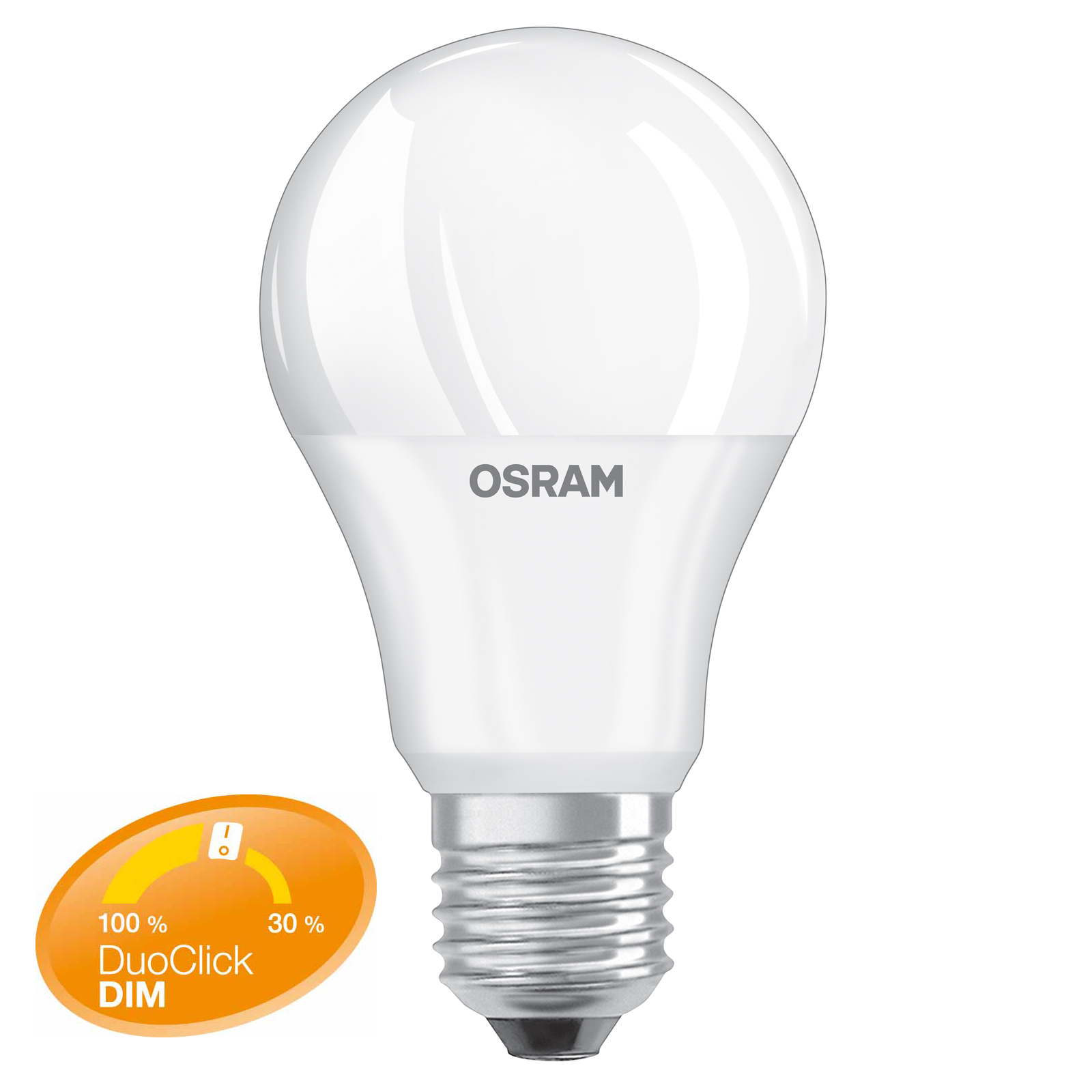 osram led star duo click dim e27 8 5 watt ersetzt 60. Black Bedroom Furniture Sets. Home Design Ideas