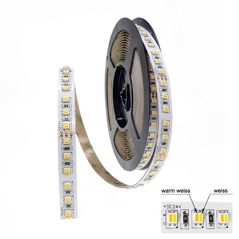 brileda cct tunable white flexibler led strip 120 led m 90 ra wunschl nge. Black Bedroom Furniture Sets. Home Design Ideas