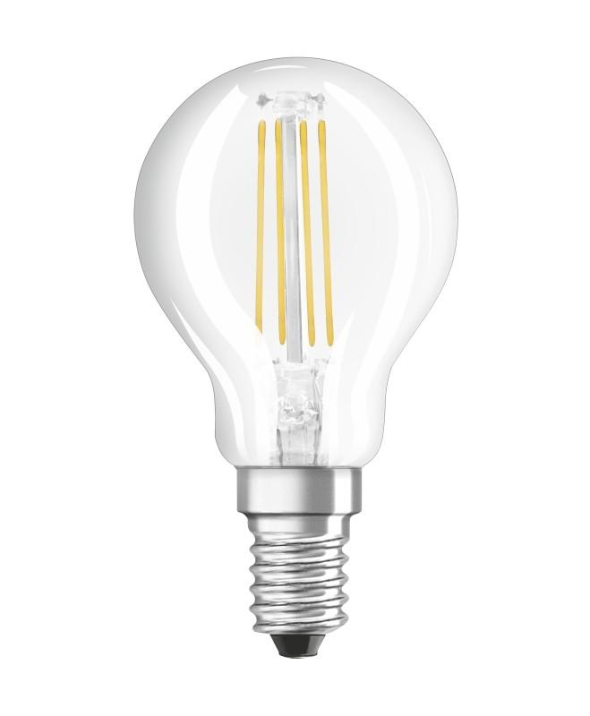 NEOLUX Filament LED-Lampe E14 4W (Ersatz für 40 Watt) 470 Lumen warm ...