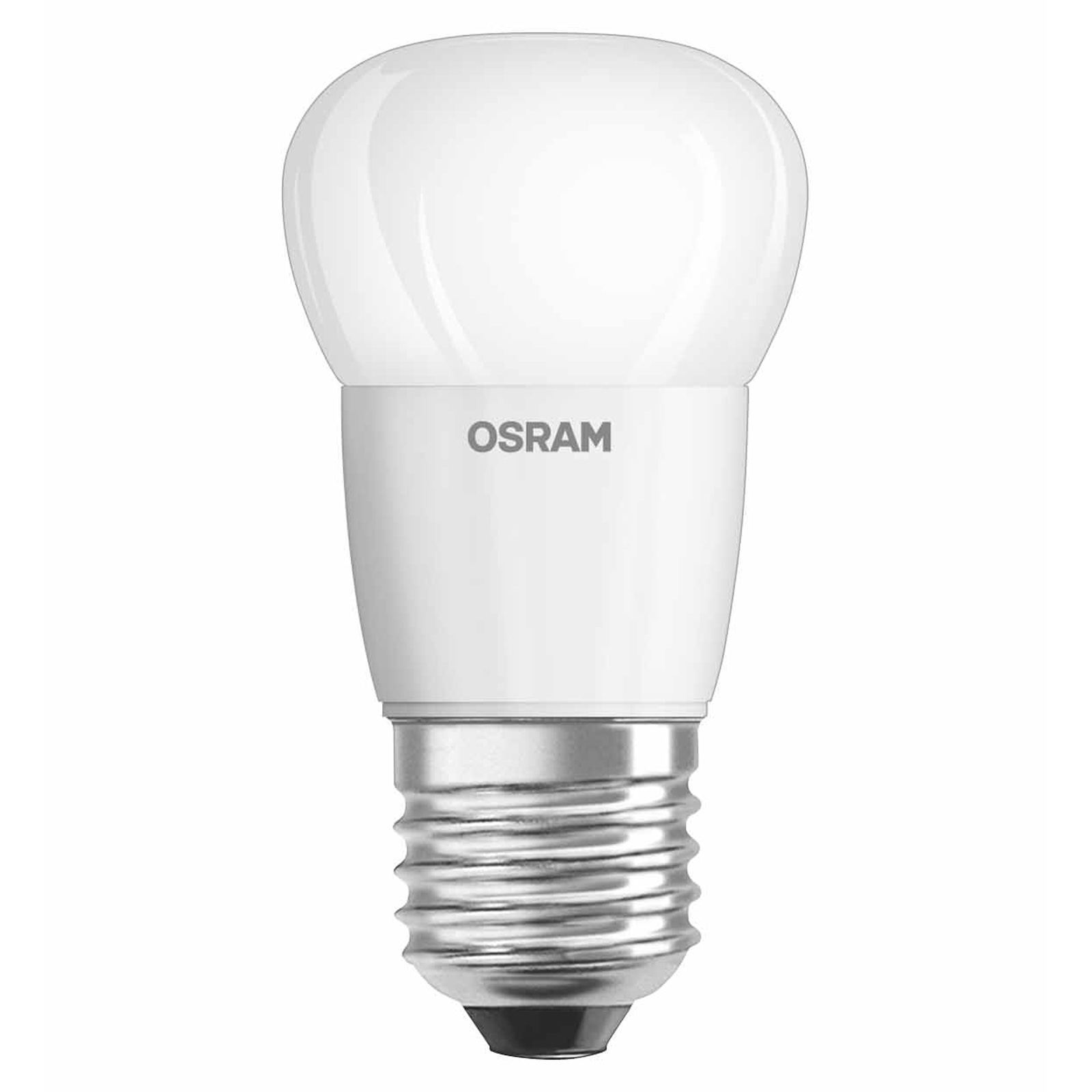 Osram led star classic p 40 e27 5 8 watt ersatz f r 40 for Led lampen 0 5 watt