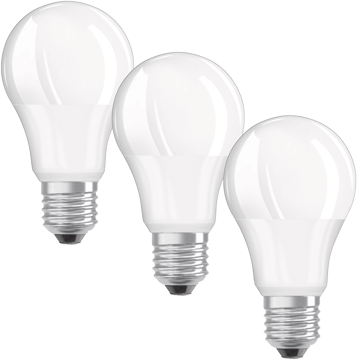 OSRAM LED VALUE CLASSIC A 75 E27 MATT 10W=75W 1055lm Neutralweiß 4000K nodim 3er