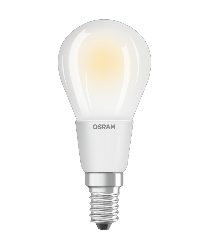 osram led retrofit classic p 40 e14 4 5w wie 40 w 470 lumen warmwei dimmbar. Black Bedroom Furniture Sets. Home Design Ideas