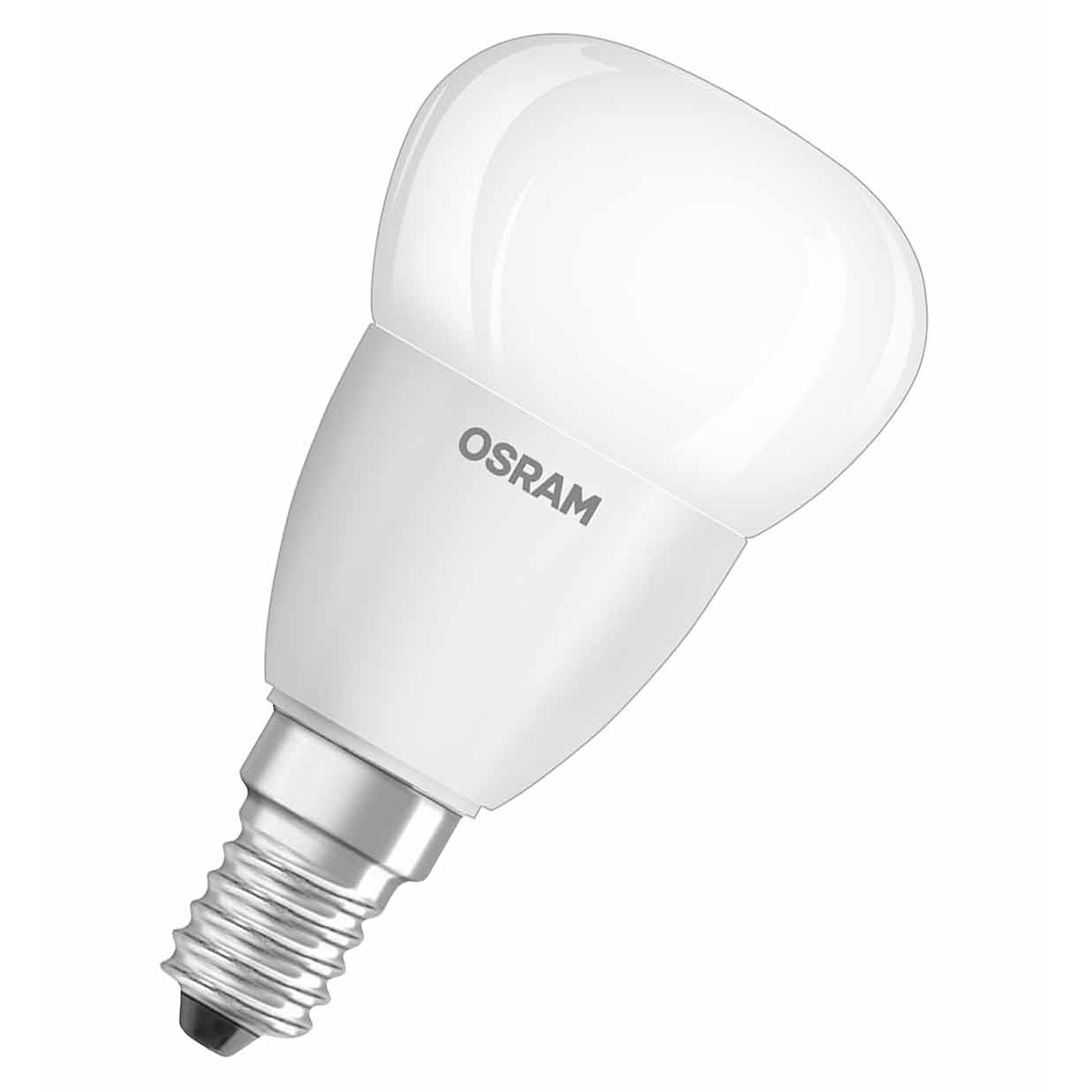 osram led star classic p 40 e14 5 7 watt ersatz f r 40 watt 470 lumen warmwei 4052899911932. Black Bedroom Furniture Sets. Home Design Ideas
