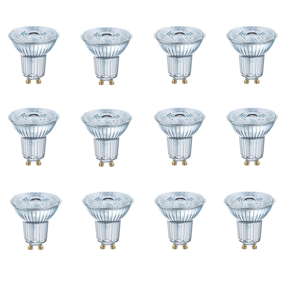 osram led superstar par16 gu10 4 5w 35w 230lm warm wei 2700k dimmable 90ra 12er ebay. Black Bedroom Furniture Sets. Home Design Ideas