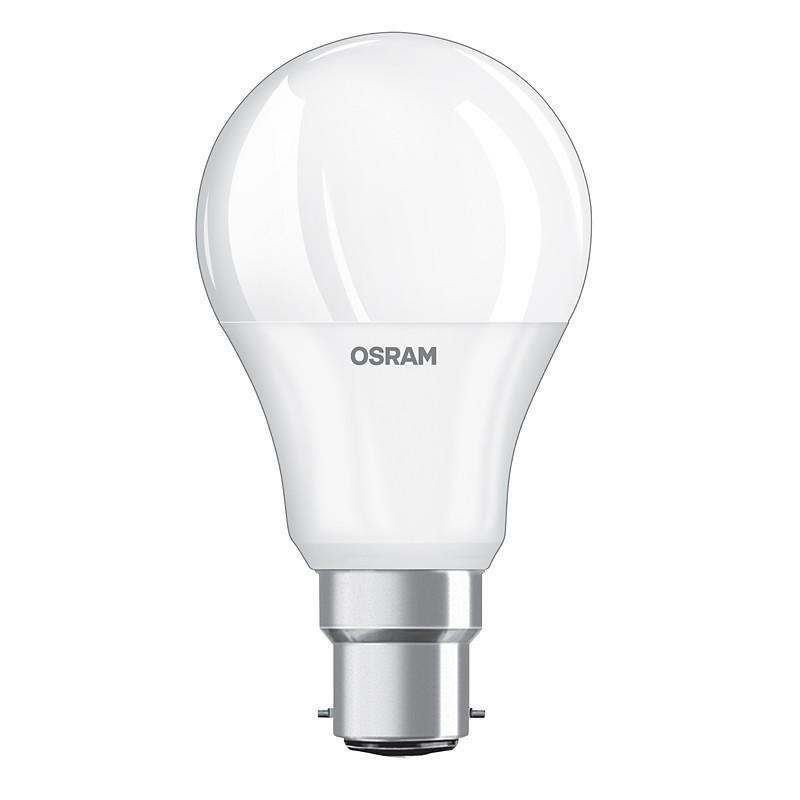 OSRAM LED-Lampe B22d 9,5W (Ersatz für 60 Watt) 806 Lumen warmweiß ...