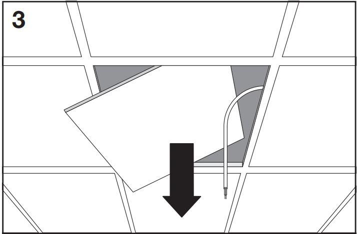 osram planon pure led rasterdecken panel 36 w neutral. Black Bedroom Furniture Sets. Home Design Ideas