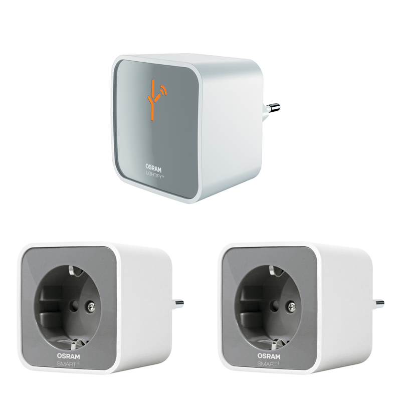 osram lightify smart home wlan gateway 2 wlan lightify smart plugs. Black Bedroom Furniture Sets. Home Design Ideas