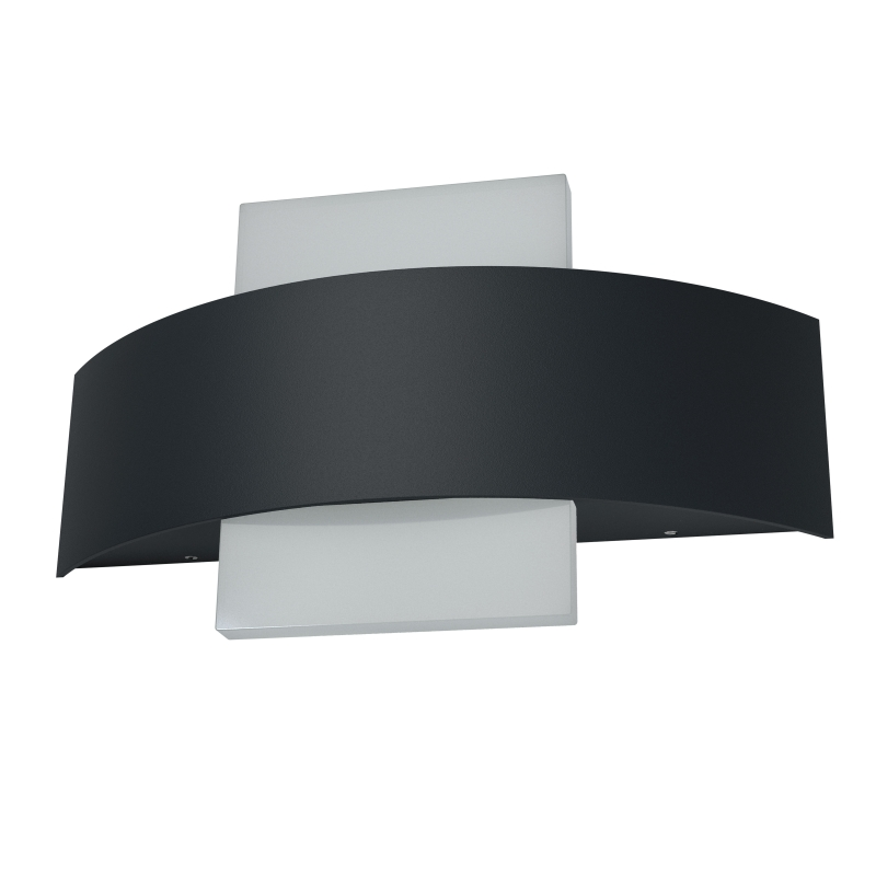 osram endura style shield square led 11 watt dunkelgrau. Black Bedroom Furniture Sets. Home Design Ideas