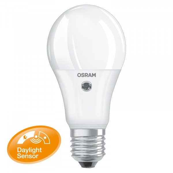 Great Osram Led Daylight Sensor Classic A E W Wie W Lumen Warm White Ledde  With Led Glhlampe E27