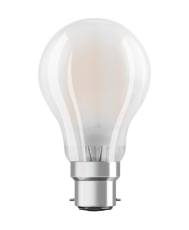 Osram led star classic a led lampe b22d 11w ersetzt 94 for Led lampen 0 3 watt