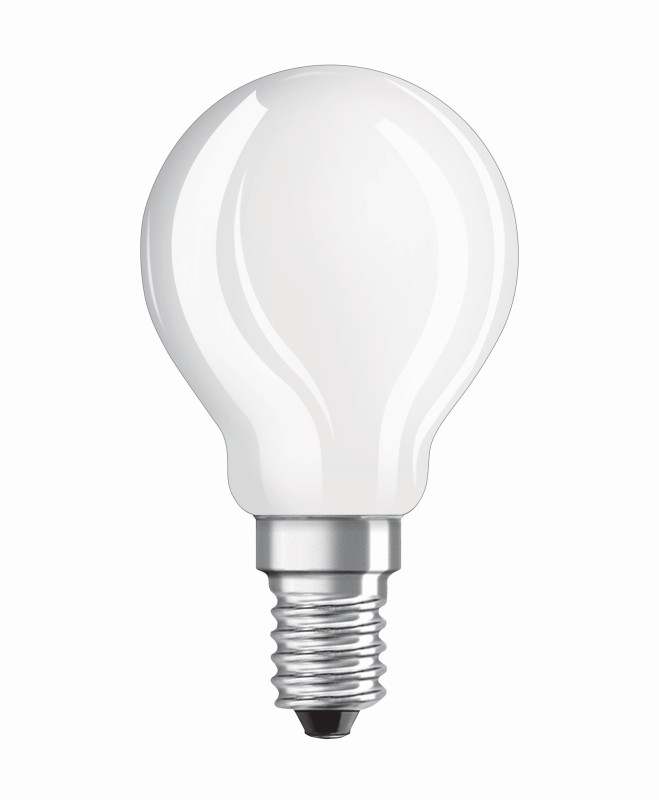 NEOLUX CLASSIC P 25 MATT E14 LED-LAMPE 2,8W=25W 250lm warm white ...