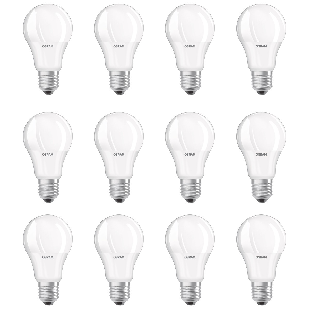 OSRAM LED BASE CLASSIC A 60 E27 MATT 8,5W=60W 806lm neutral weiß 4000K nondim 4e