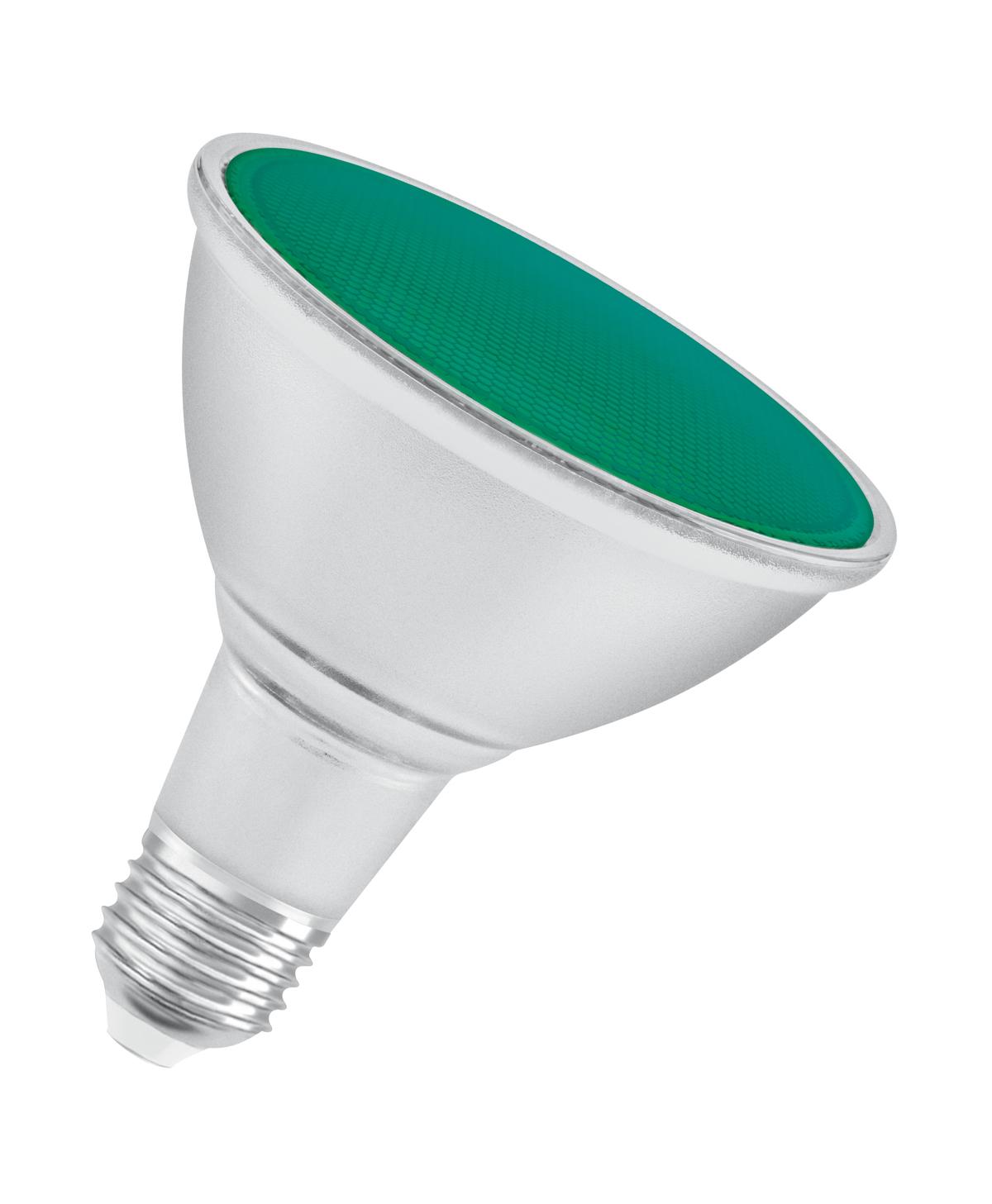 OSRAM PARATHOM PAR38 100 IP65 Green Lens Glas Warm White E27 Spot