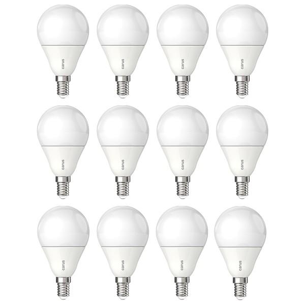 CARUS LED-LAMPE E14 MATT 8,3W=48W 600lm warmweiß 2700K dimmbar 90Ra ...