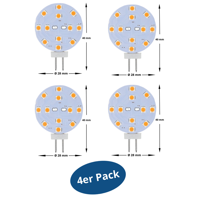 11080-LED-Pin-BRILEDA-G4-23W-Ersatz-fuer-20-Watt-230-Lumen-warmweiss-4er-Pack-1 Wunderbar Led Mr11 Gu4 Warmweiss Dekorationen
