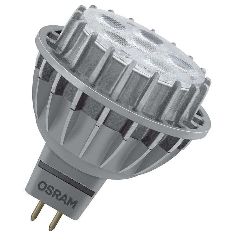 osram led spot gu5 3 8w ersatz f r 50 watt 621 lm 36 kaltwei ebay. Black Bedroom Furniture Sets. Home Design Ideas