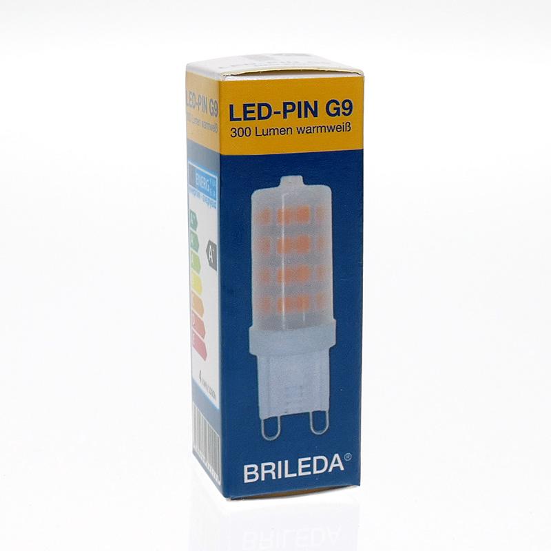 led pin g9 von brileda 3 5w ersatz f r 28 watt 300 lumen warmwei 2700 kelvin ebay. Black Bedroom Furniture Sets. Home Design Ideas