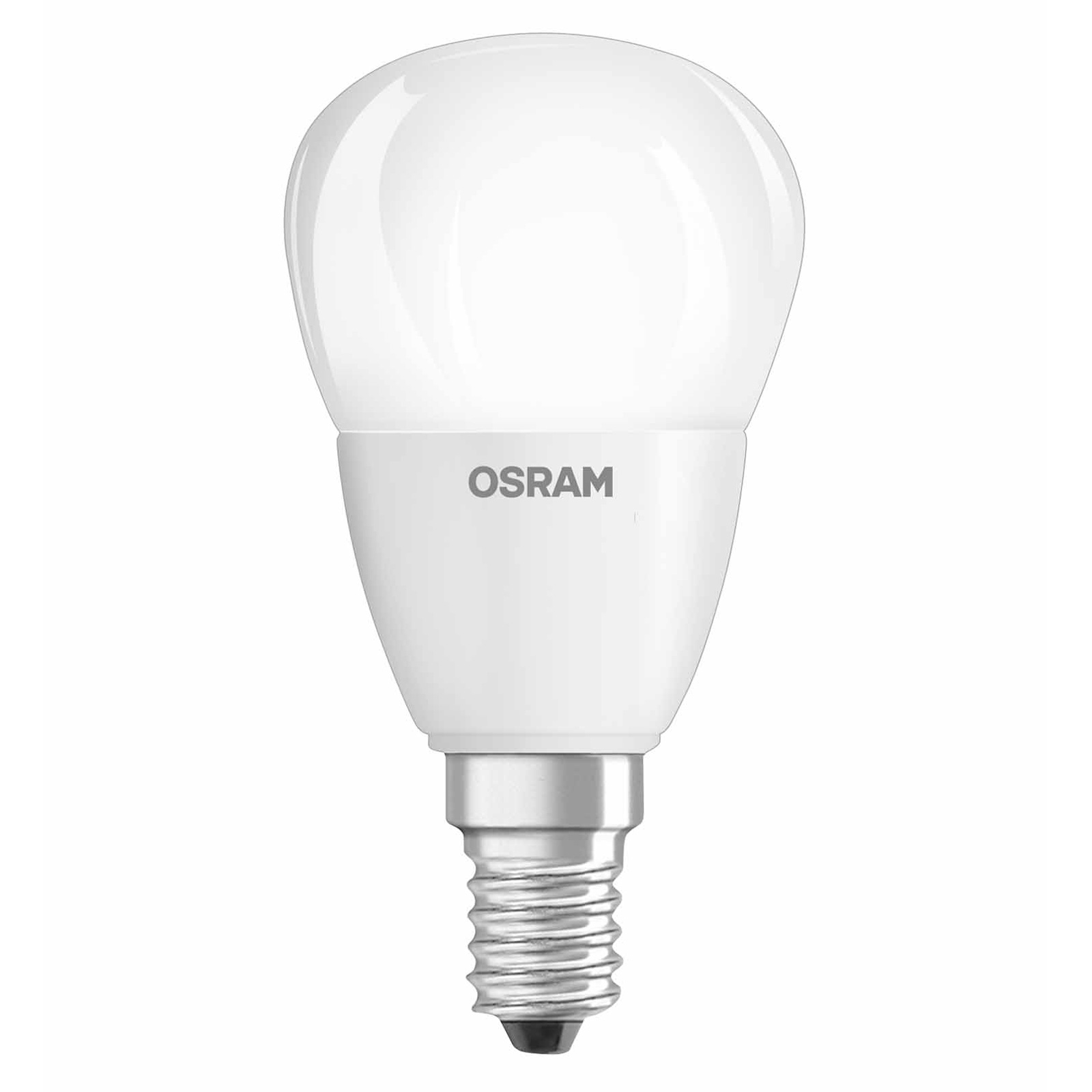 osram led superstar classic p 40 e14 wie 40 watt 470 lumen warmwei dimmbar ebay. Black Bedroom Furniture Sets. Home Design Ideas