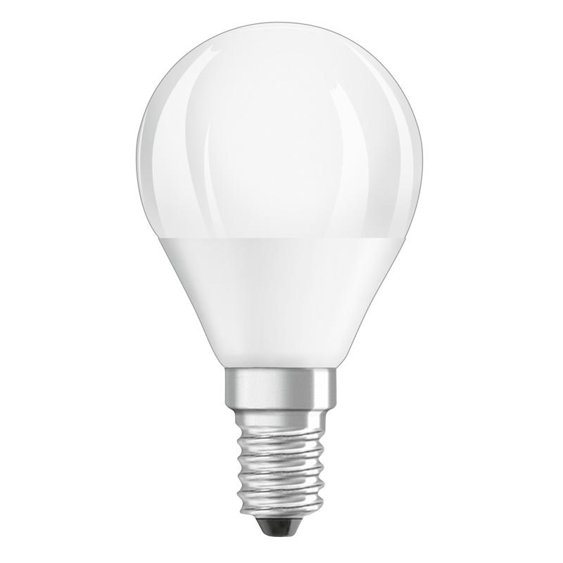 Osram led star cla p40 duo click dim e14 5 5w wie 40 watt for Led lampen 0 3 watt