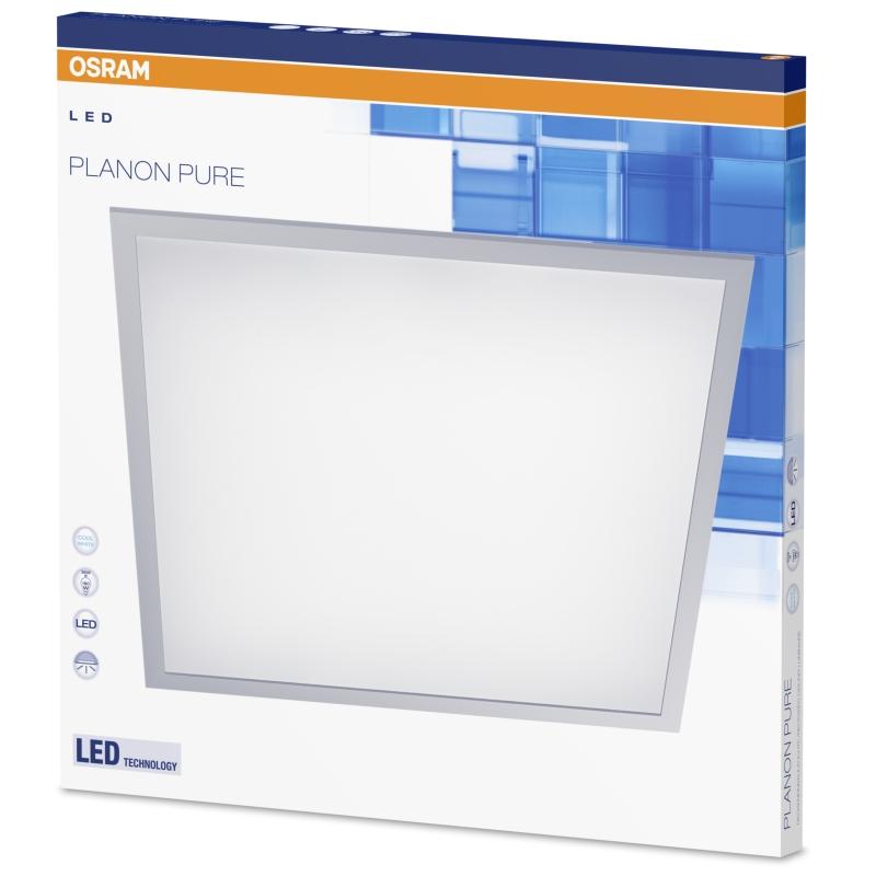 osram planon pure led panel deckenleuchte 36 w neutral. Black Bedroom Furniture Sets. Home Design Ideas