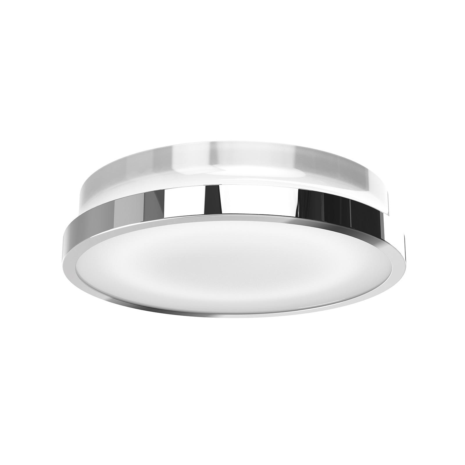 osram rondel led deckenleuchte 20 watt 930 lumen warmwei 3000 kelvin 80 ra ip44 ebay. Black Bedroom Furniture Sets. Home Design Ideas