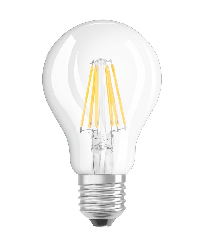 NEOLUX LED-LAMPE CLASSIC A 60 GLAS E27 6W=60W 806lm warm white 2700K ...