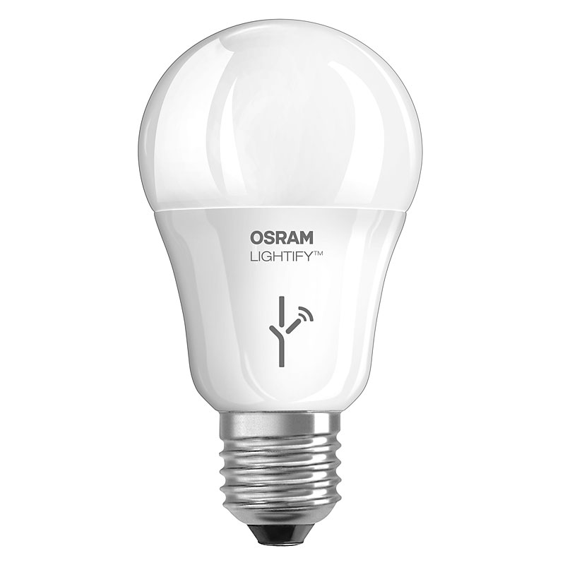 osram lightify led lampe e27 9 5w ersatz f r 60 watt 810 lumen tunable white. Black Bedroom Furniture Sets. Home Design Ideas