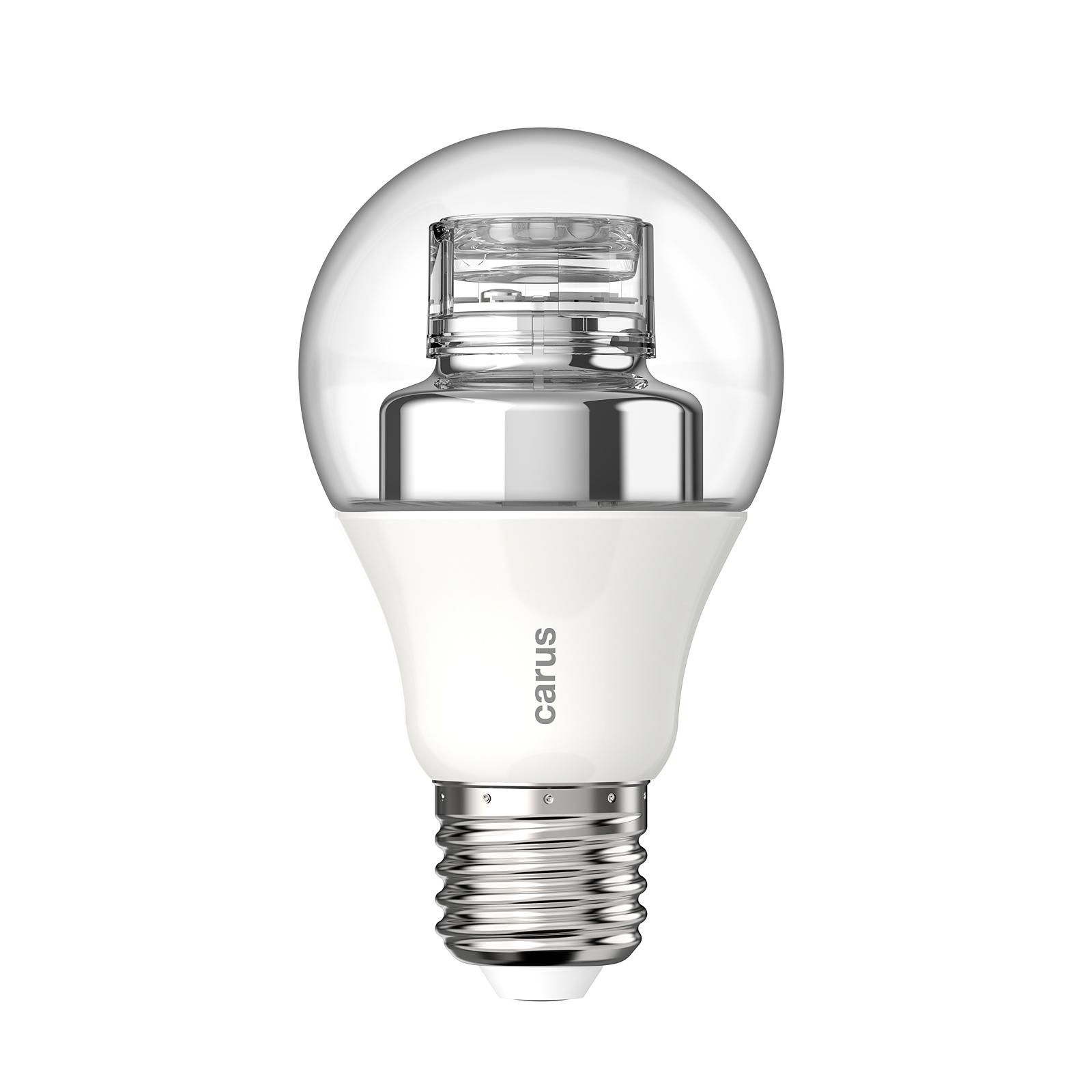 Carus warm by click lampe e27 7 5w 470lm wie 40 watt for Led lampen 0 3 watt