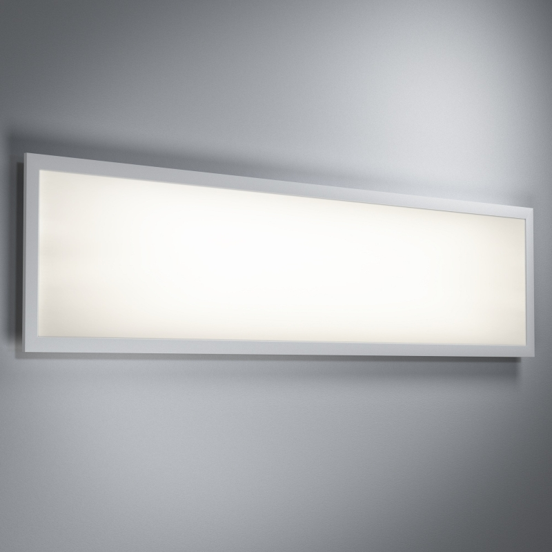osram planon plus led panel matt 36w 3400 lumen warm white 3000k 120x30cm wei ebay. Black Bedroom Furniture Sets. Home Design Ideas