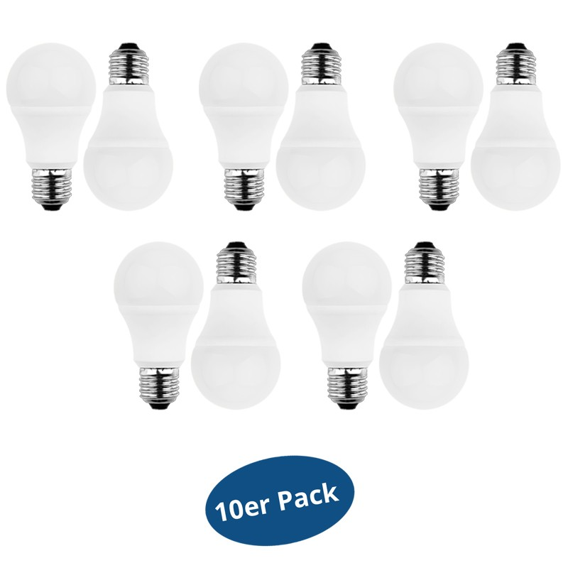 BLULAXA A 60 E27 LED-Lampe 8W=60W 810 Lumen warm white 2700 Kelvin ...