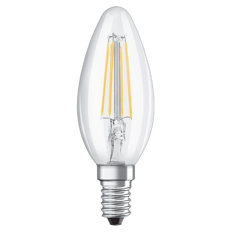 Osram led filament classic b 40 e14 4w ersatz f r 40 watt for Lampen 40 watt