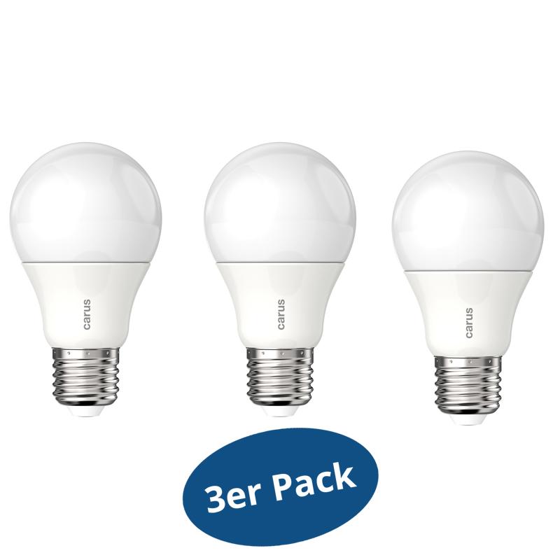 LEDLampe CARUS Classic Dim 800 E27 8,5W (ersetzt 60 Watt  -> Led Lampe Dimmbar
