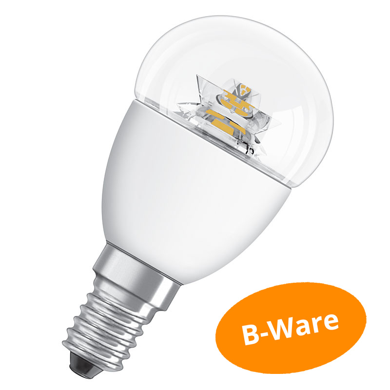 led lampe osram e14 4w ersatz f r 25 watt 250 lumen warmwei dimmbar ebay. Black Bedroom Furniture Sets. Home Design Ideas