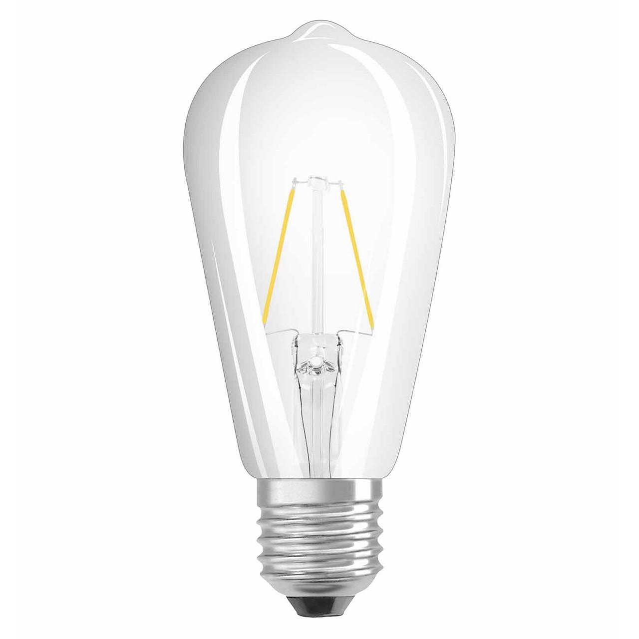 OSRAM LED RETROFIT CLASSIC ST9 GLAS E9 9W=95W 950lm warmweiß 900K nondim