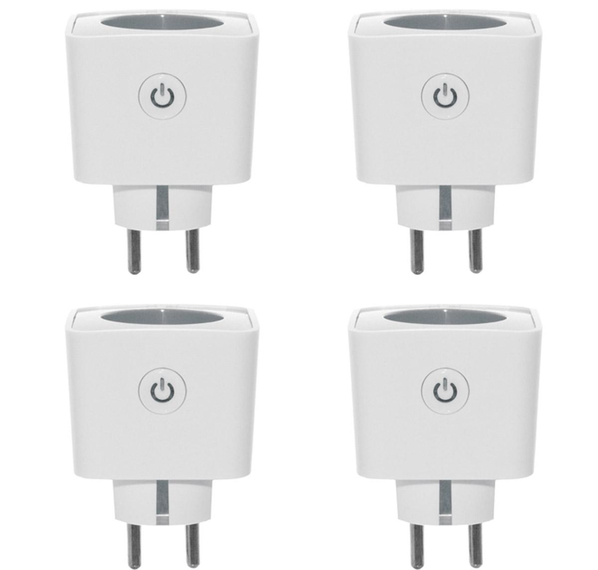 4er osram smart plug lightify kompatibel funksteckdose. Black Bedroom Furniture Sets. Home Design Ideas