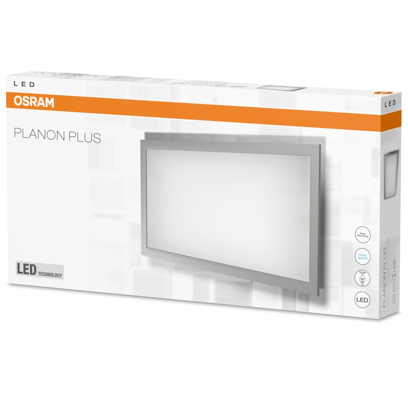 osram planon plus led panel matt 15 watt 4000k neutral white 1400 lumen 60x30 cm ebay. Black Bedroom Furniture Sets. Home Design Ideas