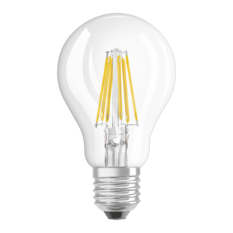 osram led retrofit classic a 75 e27 8 watt wie 75 watt 1055 lumen warm white. Black Bedroom Furniture Sets. Home Design Ideas