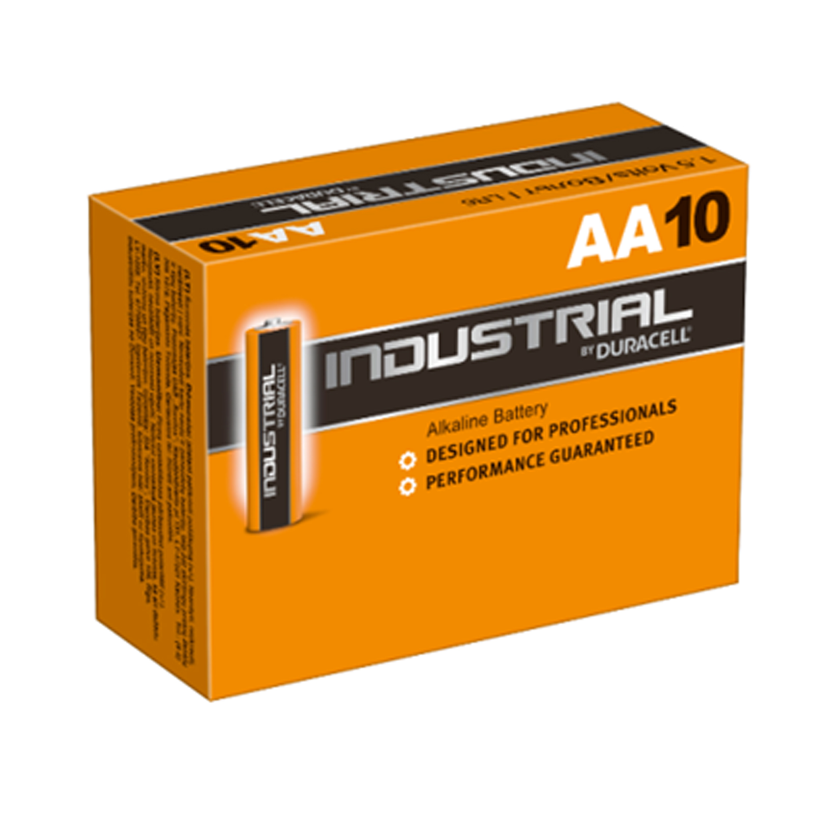 10 x duracell hochleistungs batterie industrial alkaline. Black Bedroom Furniture Sets. Home Design Ideas