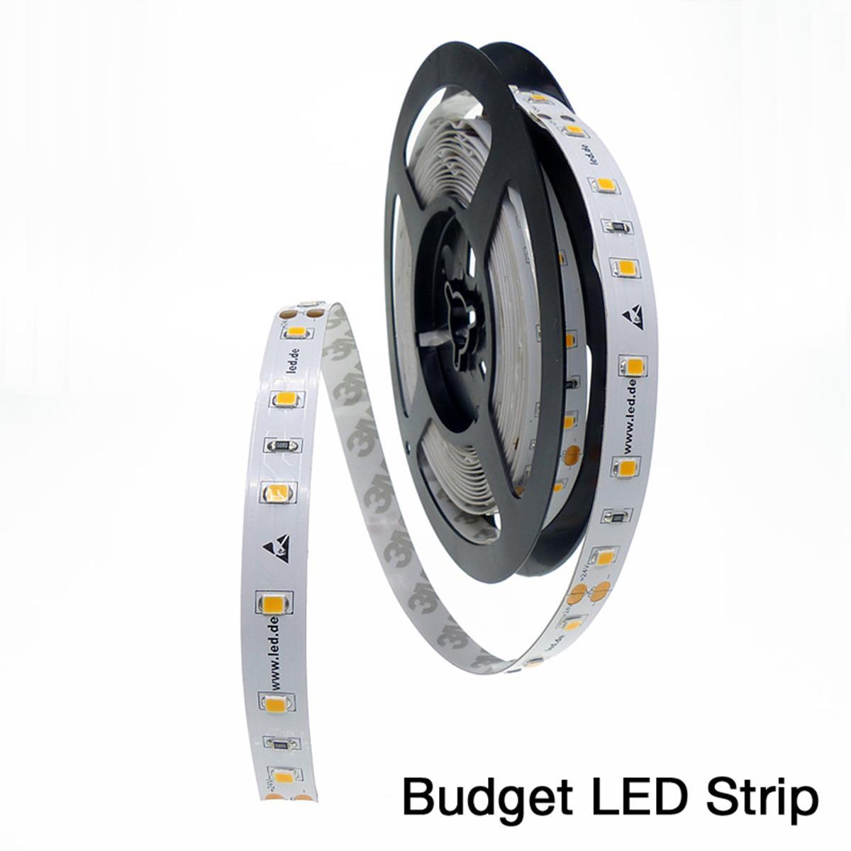 led strip leiste low budget warmwei 3000 kelvin 300 led 5m 70 ra 5m rolle ebay. Black Bedroom Furniture Sets. Home Design Ideas