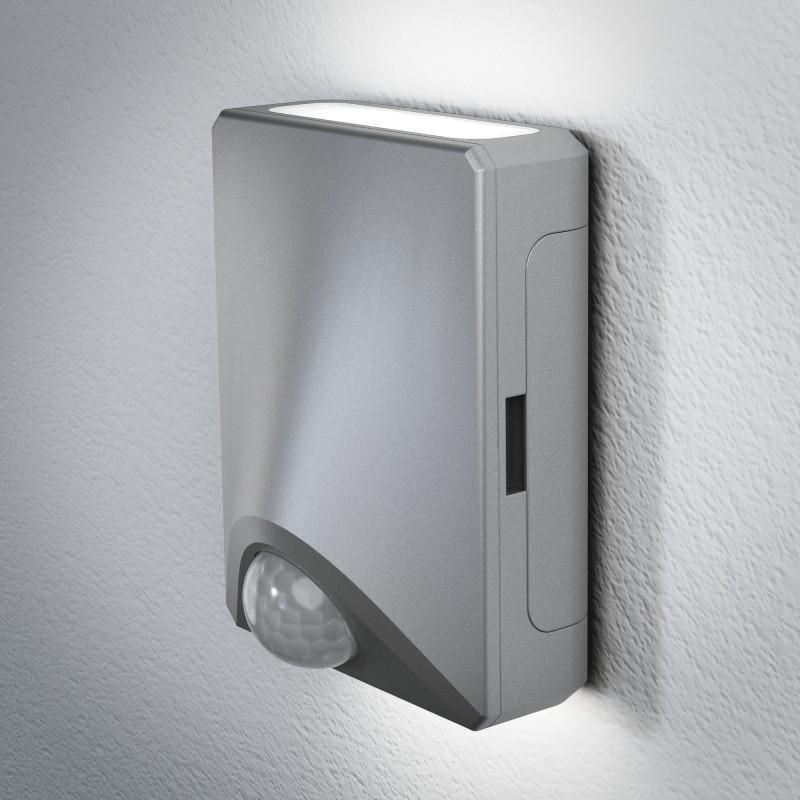 OSRAM DoorLED UpDown Silber Sicherheits und Empfangslicht mit Bewegungssensor