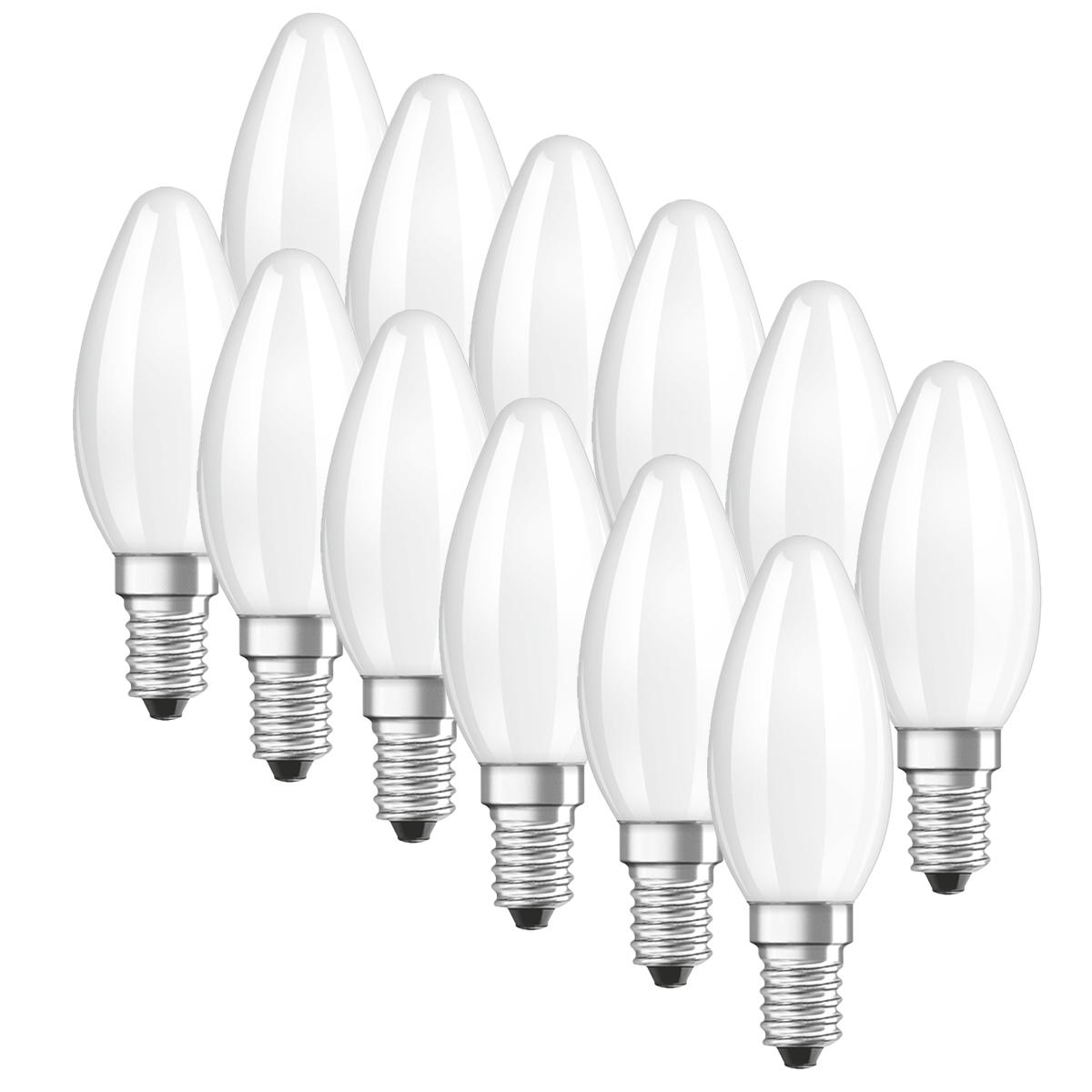 OSRAM LED BASE CLASSIC B40 Kerzenlampe 4W=40W 470lm warm white 2700K