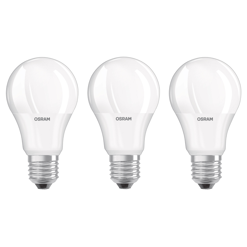 6er osram led base classic a60 e27 9w wie 60 w 806lm neutral white 4000 kelvin ebay. Black Bedroom Furniture Sets. Home Design Ideas