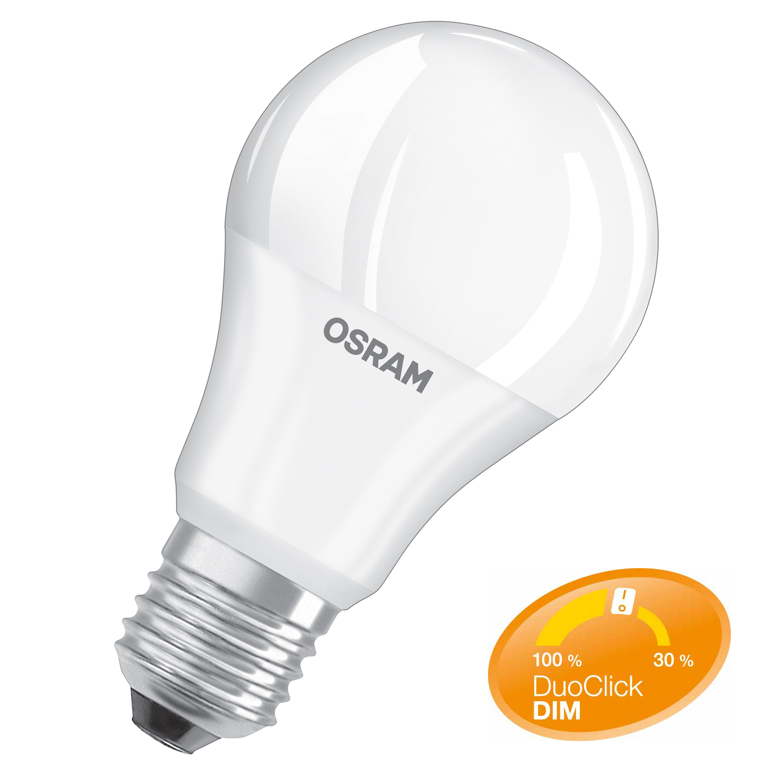 osram led star duo click dim e27 8 5 watt ersetzt 60 watt 806 lumen warmwei ebay. Black Bedroom Furniture Sets. Home Design Ideas