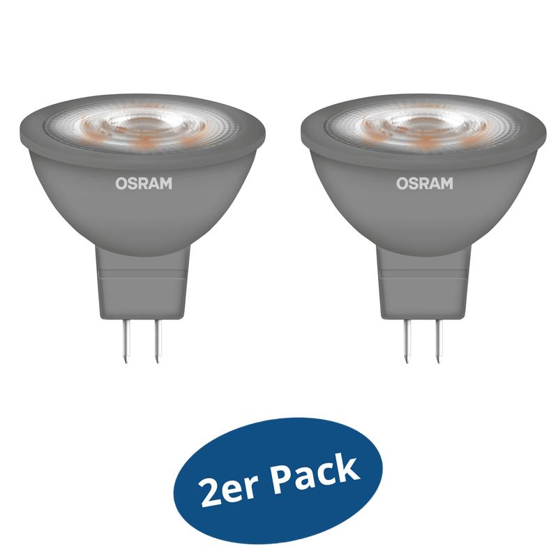 2er pack osram led star mr16 glowdim gu5 3 5 w 35 w 345. Black Bedroom Furniture Sets. Home Design Ideas