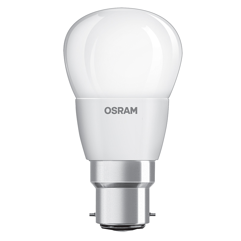 led lampe osram b22d 5 4w ersatz f r 40 watt 470 lumen warmwei dimmbar. Black Bedroom Furniture Sets. Home Design Ideas