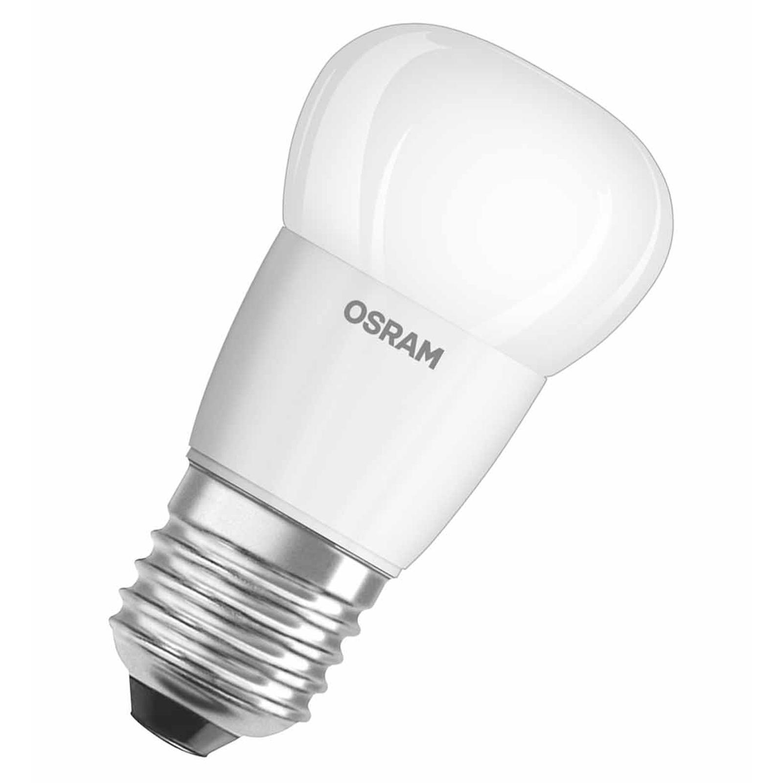 osram led star classic p 40 e27 5 8 watt ersatz f r 40 watt 470 lumen warmwei ebay. Black Bedroom Furniture Sets. Home Design Ideas